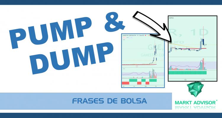 ¿qué es el PUMP and DUMP en Bolsa ?  Caso GAMESTOP y RIPPLE: